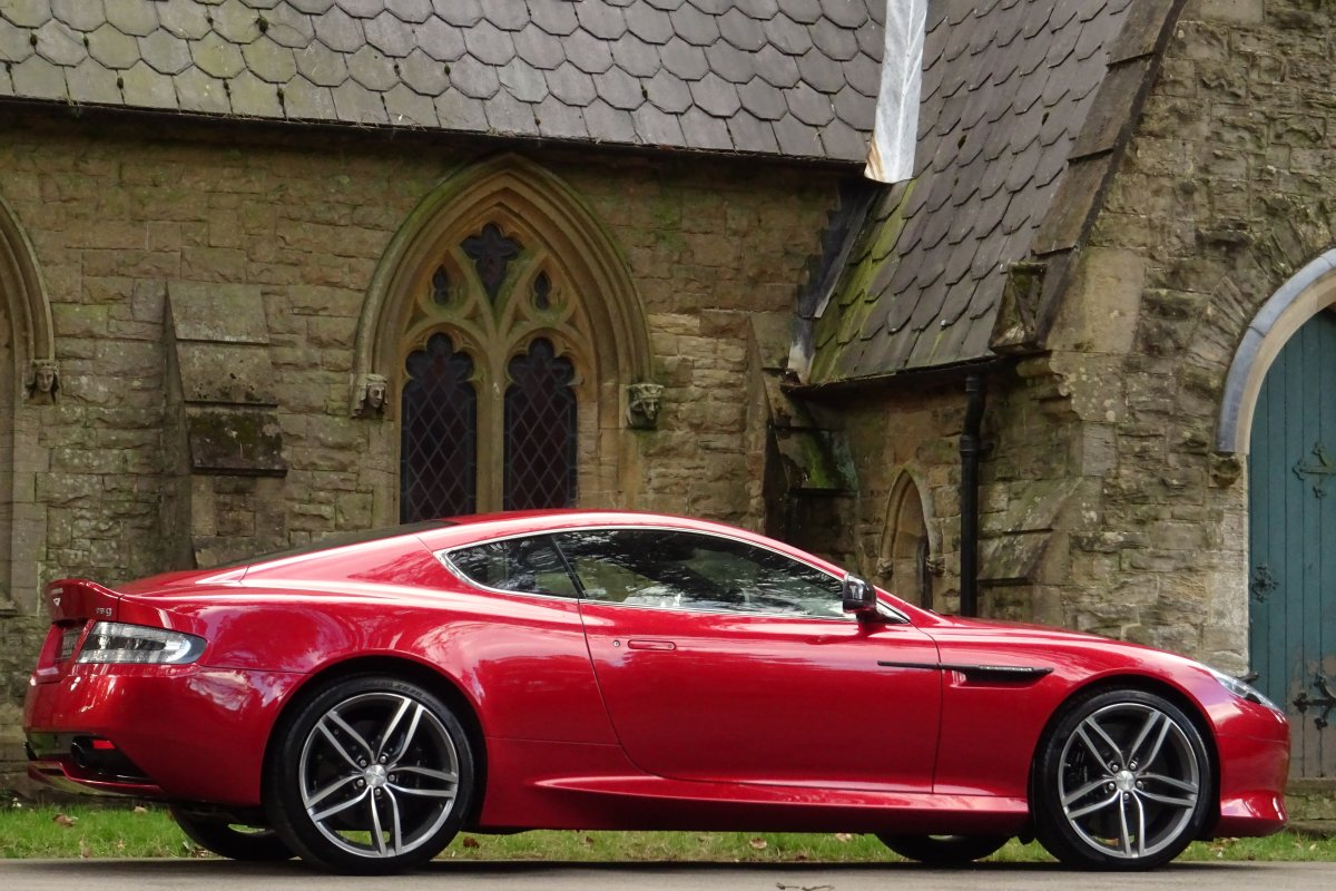 Aston Martin Db9 6 0 V12 Coupe 2dr