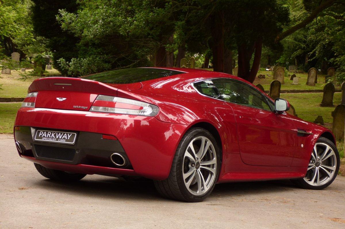 Aston Martin Vantage 6 0 V12 Coupe Manual