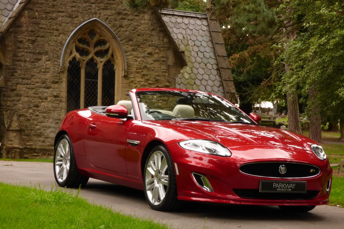 JAGUAR XKR 5 0 V8 S/CHARGED CONVERTIBLE -