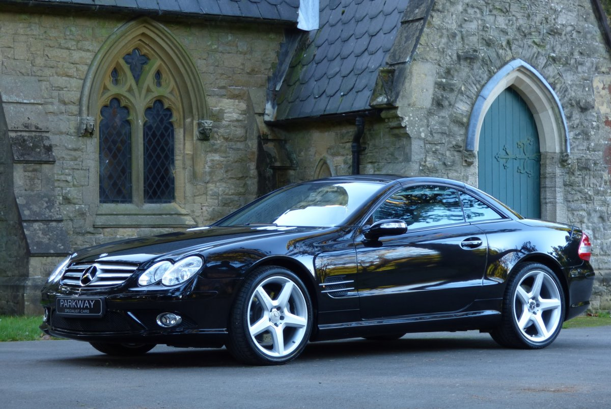 mercedes sl500 v8 convertible r230. Black Bedroom Furniture Sets. Home Design Ideas