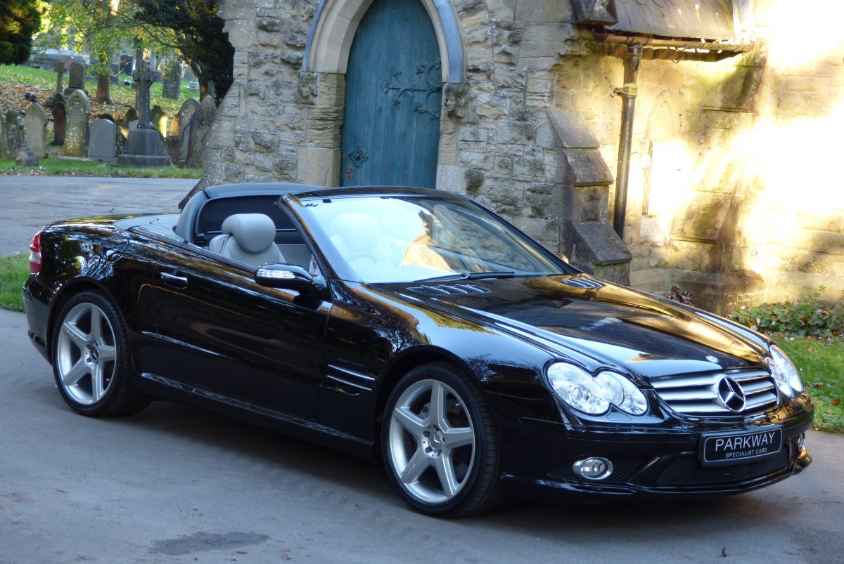 How Much To Replace Transmission >> MERCEDES SL500 V8 CONVERTIBLE R230
