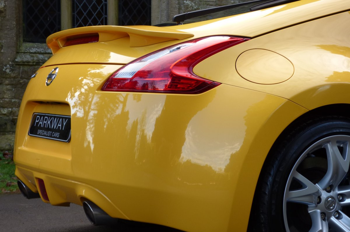 NISSAN 370Z 3 7 V6 GT YELLOW EDITION COUPE -