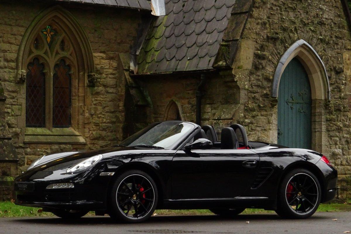 Porsche 987 Boxster S Black Edition