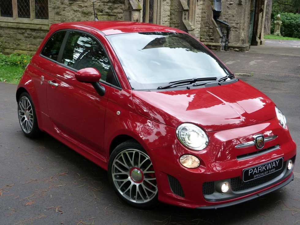 Image Gallery Abarth Red
