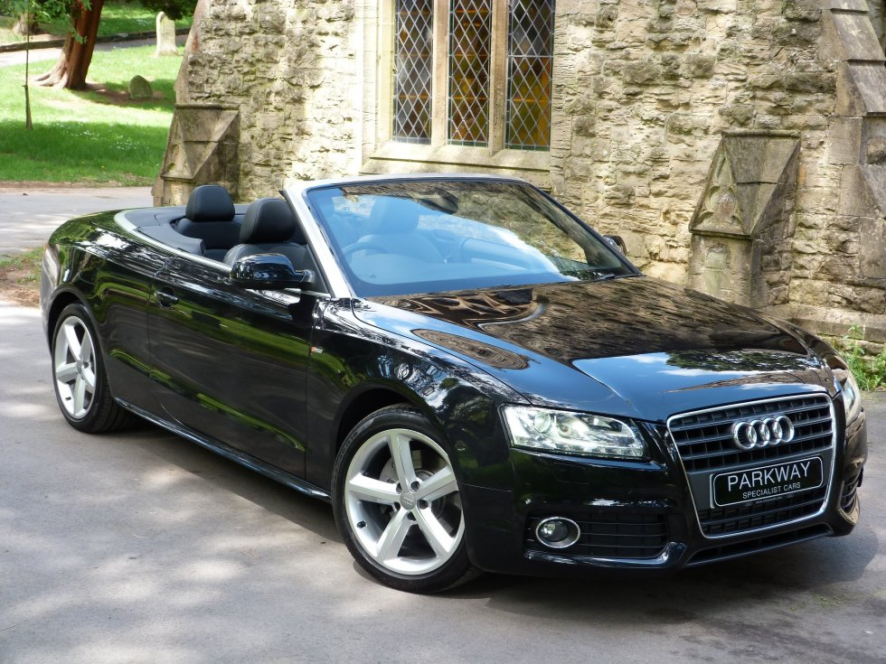 audi a5 2 0t fsi s line convertible parkway. Black Bedroom Furniture Sets. Home Design Ideas