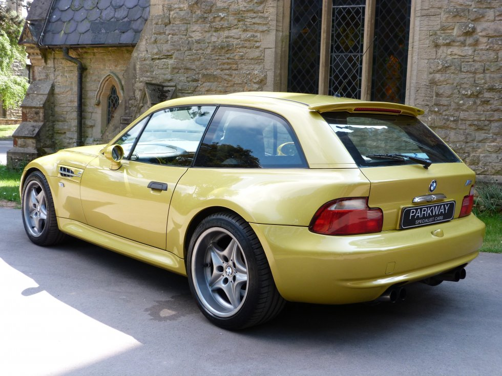 Bmw Z3 Yellow 2001 Phoenix Yellow Bmw Z3 M Coupe Rare Cars