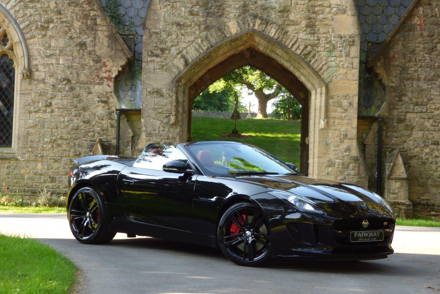 Jaguar f type black