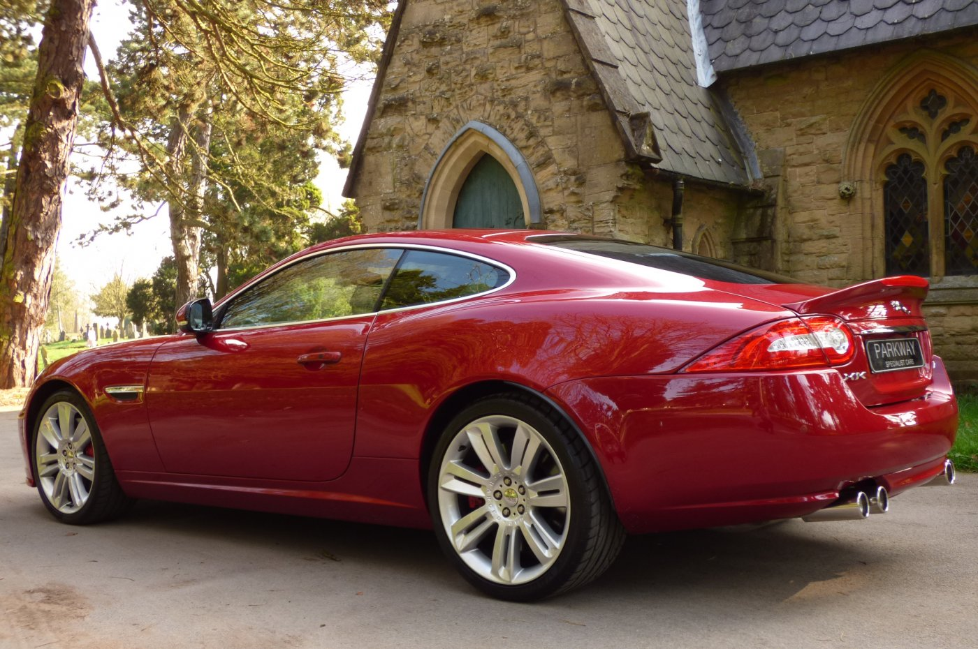 Jaguar Xkr 5 0 V8 S Charged Coupe