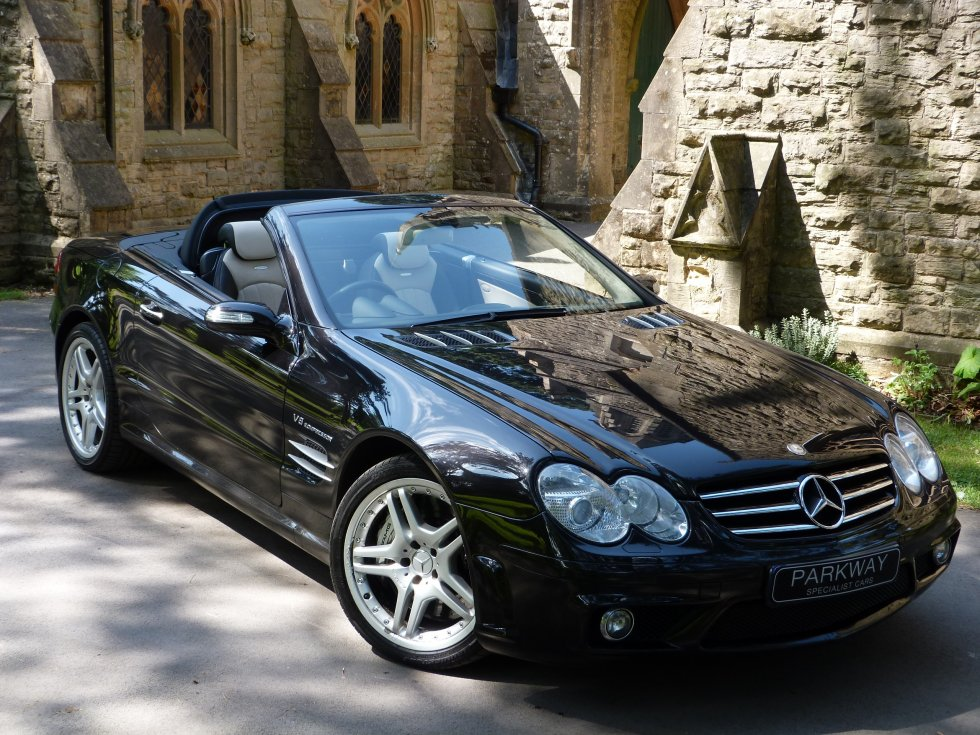 mercedes benz sl55 amg f1 performance pack parkway. Black Bedroom Furniture Sets. Home Design Ideas